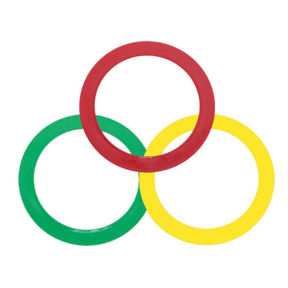 Higgins Bros Juggling Rings, Red/Yellow/Green