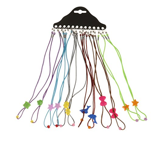 12pcs Cordon de Lunnettes dEnfants Sangle de Lunettes de Sport