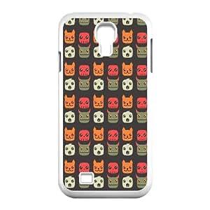Samsung Galaxy S4 9500 Cell Phone Case White Animal Cartoon Pattern GY9026353