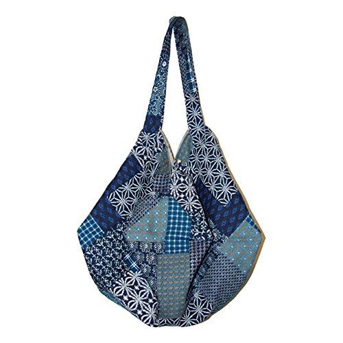 Funbase Bag Beach Women Large Shoulder Bohemian Bucket Travel Hobo 2 Bag Cotton r4rS8WBq