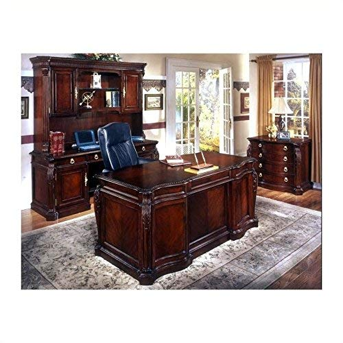 DMI Office Furniture DMI713036 Executive Desk with Radius Shaped Top, 72