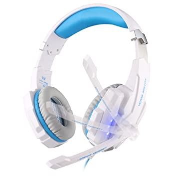[New Version Auriculares para PS4 PC] EasySMX KOTION EACH G9000 Stereo Gaming Headset con