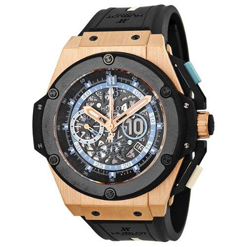 Hublot King Power Diego Maradona Limited Edition 200 piezas 18 K oro rosa reloj 716. Om. 1129. RX. dma12: Hublot: Amazon.es: Relojes
