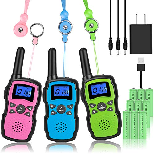 Wishouse Rechargeable Walkie Talkies