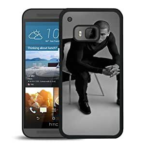 Popular And Unique Custom Designed Case For HTC ONE M9 With Chris Brown 1 Black Phone Case