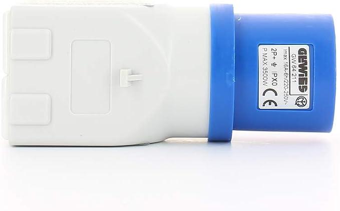 Gewiss GW48007 caja de conexión eléctrica - Cuadro eléctrico (Color blanco, 294 mm, 70 mm, 152 mm): Amazon.es: Bricolaje y herramientas