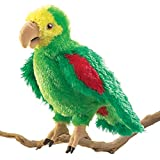 : Folkmanis Amazon Parrot Hand Puppet