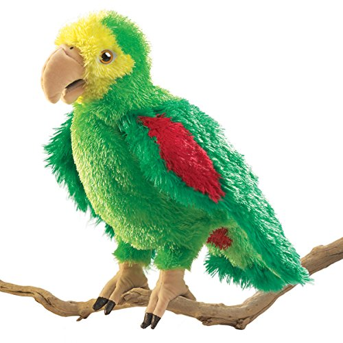 Folkmanis Amazon Parrot Hand Puppet by Folkmanis