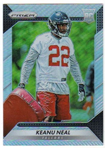 (Football NFL 2016 Panini Prizm Rookie Prizm #263 Keanu Neal #263 NM Near Mint RC Rookie Falcons)