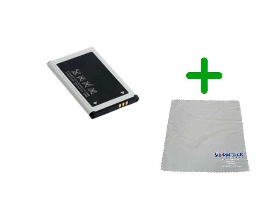 Yealink W56P Wireless DECT Phone Replacement Battery| Microfiber Cloth #YEA-W56P-BATT-B