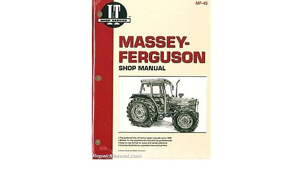 MF 45 Massey Ferguson Massey Harris MF362 MF365