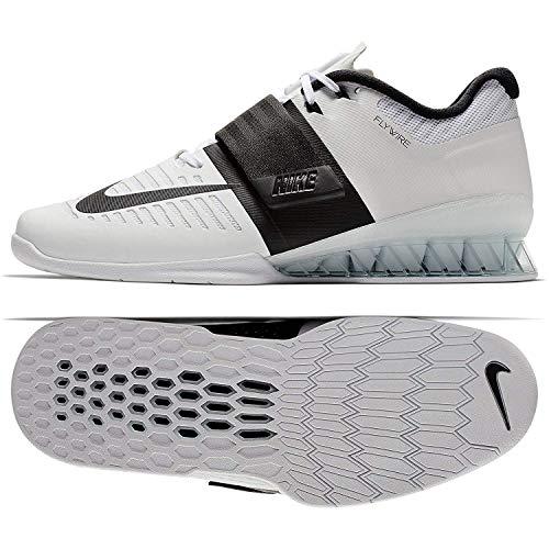 De Zapatillas black Nike white Gimnasia Romaleos 101 Adulto Unisex Blanco 3 q4xwtzR