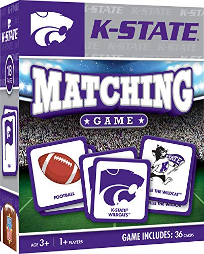 MasterPieces NCAA Kansas State University Wildcats Matching Game