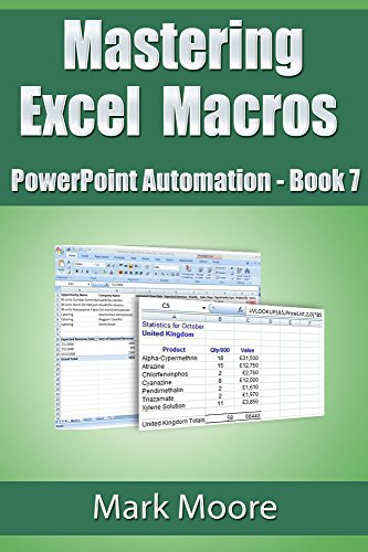 Mastering Excel Macros: PowerPoint Automation (Book 7) Pdf