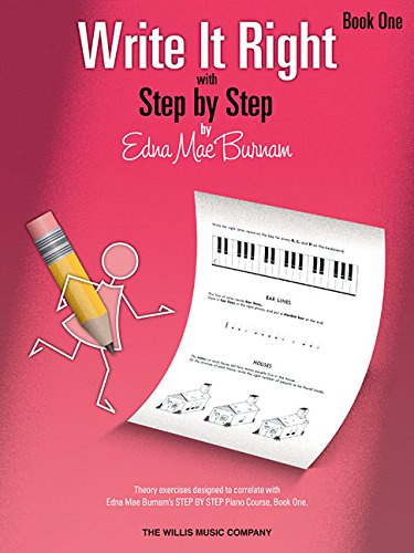 Write It Right - Book 1: Written Lessons Designed to Correlate Exactly with Edna Mae Burnam