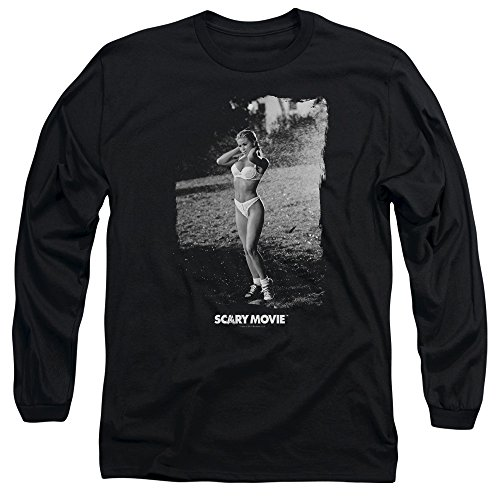 Scary Movie Carmen Electra Help Me Long Sleeve Shirt, Black, XL]()