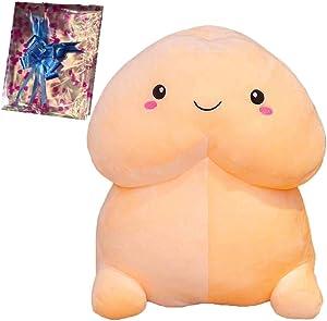 Rvavsa Funny Pillow Cute Plush Toy,Creative Cartoon Decor Plush Pillow Throw Pillow,Kawaii Pillow (A)