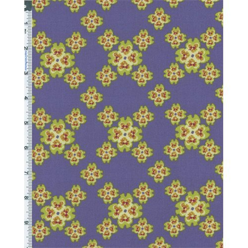 (Multi Nel Whatmore Secret Garden Floral Cotton Print, Fabric by The Yard)