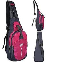 Yuhan Shoulder Sling Backpack Men Women Chest Gym Fanny Bag Sack Satchel Outdoor