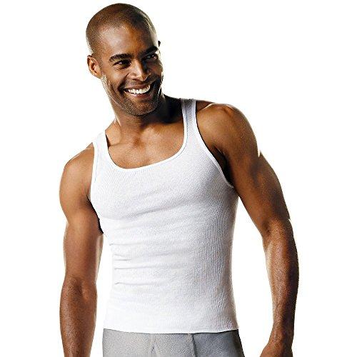 Hanes Tall Mens A-Shirt White 3XLT ()