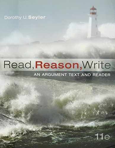 Read, Reason, Write 11e with MLA Booklet 2016 (And Write Reason Read)