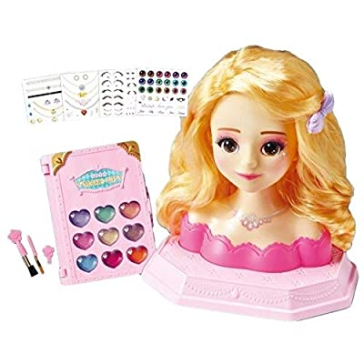 Secret JOUJU Young Toys Makeup and Hair Designer Pretend Play Kit for Kids: Toys & Games