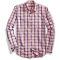 Goodthreads Men's Standard-Fit Long-Sleeve Two-Color Windowpane Shirt
