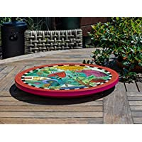 Playful Day Lazy Susan - on table