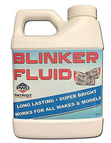 Gift Gag Great - Blinker Fluid - 16oz - Great Gag Gift or Prank for Cars