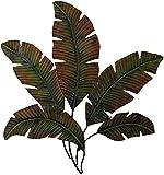 "Deco 79 Metal Palm Wall Decor, 35 by 34"""