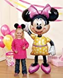 Minnie Mouse Airwalker 54'' Inch Jumbo Foil Mylar Birthday Balloon