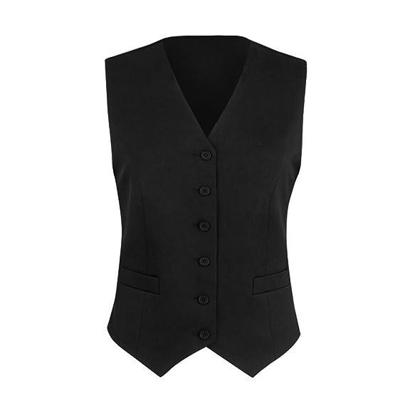Brook Taverner - Chaleco de traje modelo Omega para mujer ...