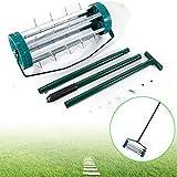 WUPYI Lawn Aerator Roller,Heavy Duty Rolling Lawn