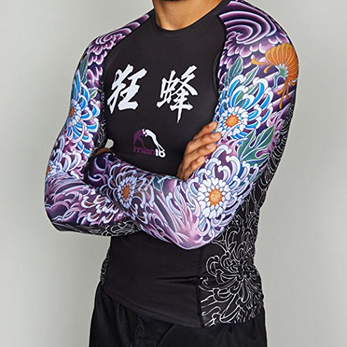 Rashguard Manto Krazy Bee-l MMA Training Fitness rash guard mma 4