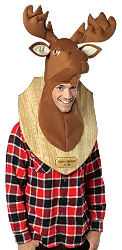 Rasta Imposta Loose Moose Trophy Outfit Funny Theme Party Adult Halloween Costume, OS]()