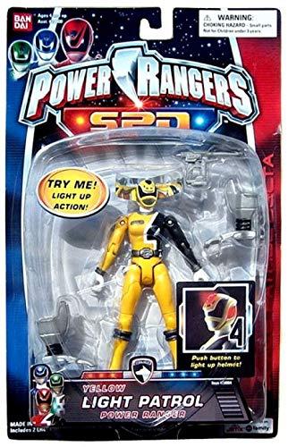 Power Rangers SPD Light Patrol Action Figure Yellow Ranger Very Hard to Find! (Light Rangers Spd Power)