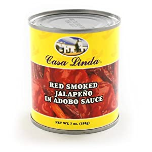 Chipotle Peppers in Adobo Sauce (7 ounce) by Casa Linda