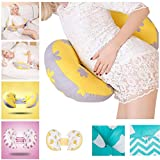 Pregnant Women Pillow U Type Belly Support Multi function Side Sleepers Protect