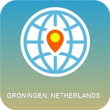 Groningen, Holanda Mapa