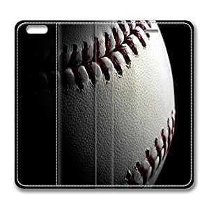 Brian114 5C Case, iPhone 5C Case - Best Protective Scratch-Proof Leather Cases for iPhone 5C Baseball In The Dark Customized Design Folio Flip Leather Case Cover for iPhone 5C Inch