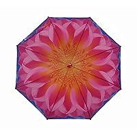 Harold Feinstein Pink Dahlia Cane Umbrella