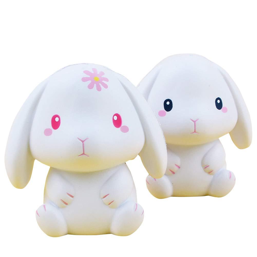 FairOnly 11Cm Lindo Juguete de Conejo de Dibujos Animados Suave ...