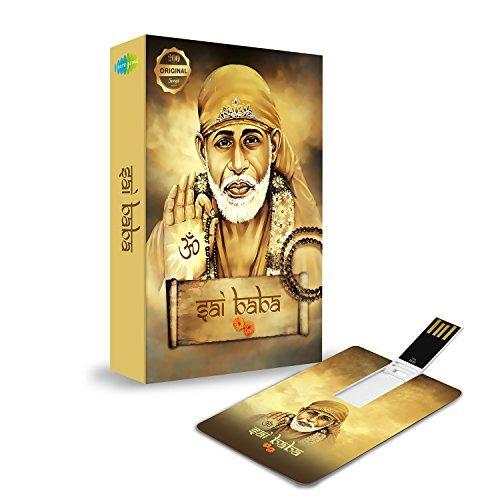 Music Card: Sai Baba - 320 Kbps Mp3 Audio 4 GB