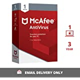 McAfee Antivirus - 1 User, 3 Years