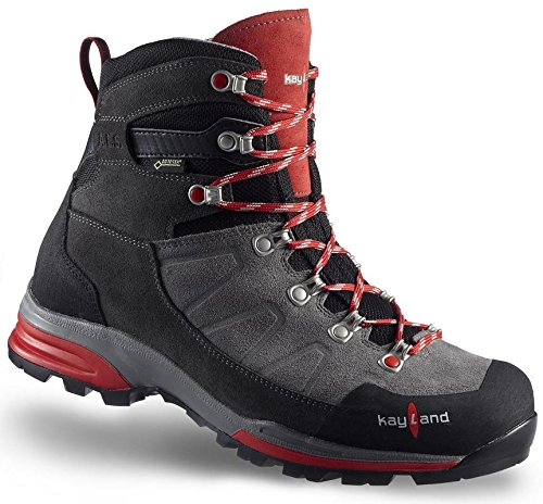 Kayland Shoes man Titan Rock GTX Gray-Red Gray-Red