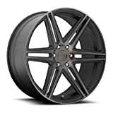 6 lug dub rims - DUB Skillz 22 Black Flake Wheel / Rim 6x5.5 with a 30mm Offset and a 78.1 Hub Bore. Partnumber S123229577+30
