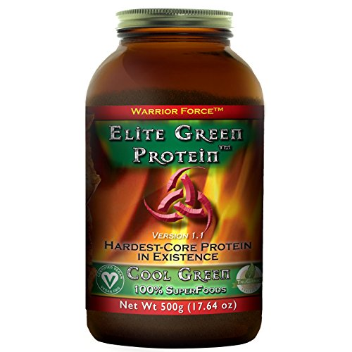 Cheap HealthForce SuperFoods Elite Green Protein Cool Green 500 Grams Powder
