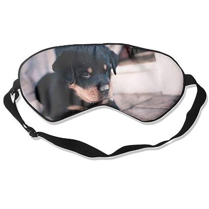 Black Puppy Paws Sleep Eyes Masks - Comfortable Sleeping ...