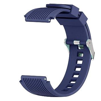FOONEE para Reloj Samsung Galaxy 42mm (20mm), Pulsera Samsung Galaxy 42mm, Correa de Repuesto de Silicona Suave Correa para Galaxy SM-800 SM-805 Reloj ...