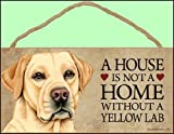 A house is not a home without Yellow Labrador Retriever - 5